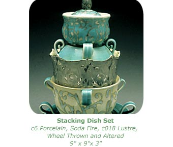 stacking dish set